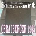 CERA MARRON IBERCER 1965