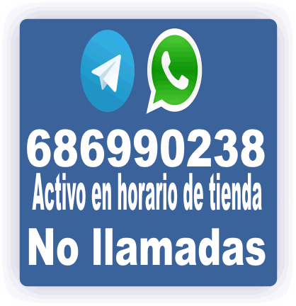 Contacte con Nosotros por WhatsApp o Telegram.
