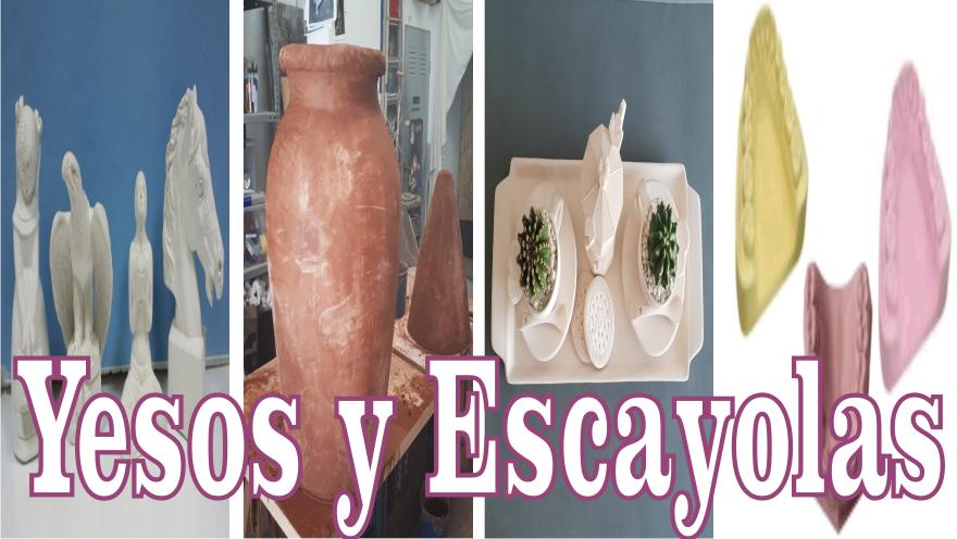 YESOS Y ESCAYOLAS