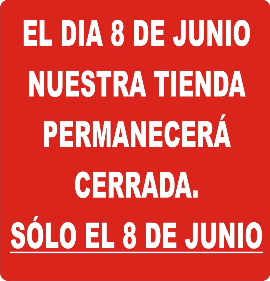 CERRADO 8 DE JUNIO