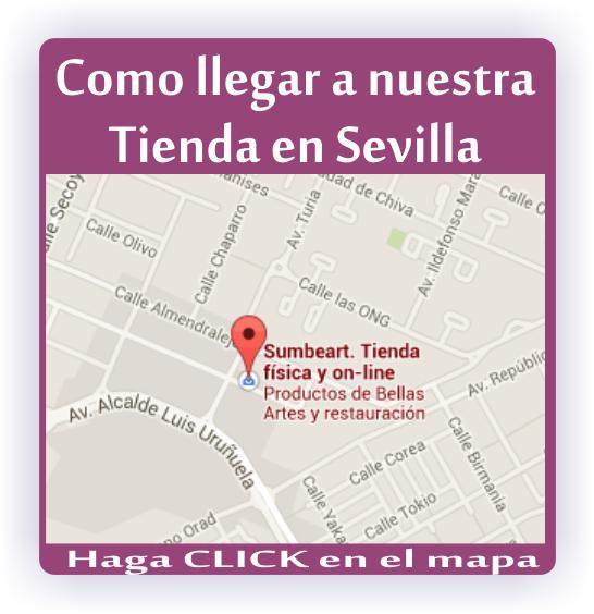 Como llegar a la tienda de Sevilla